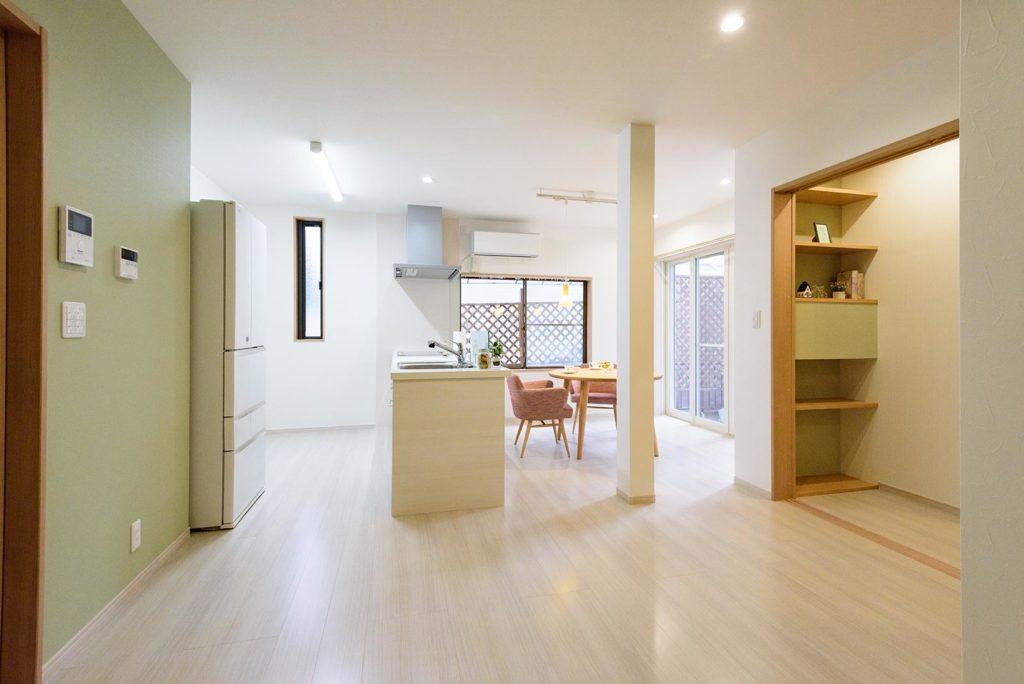 住空間を楽しむ家