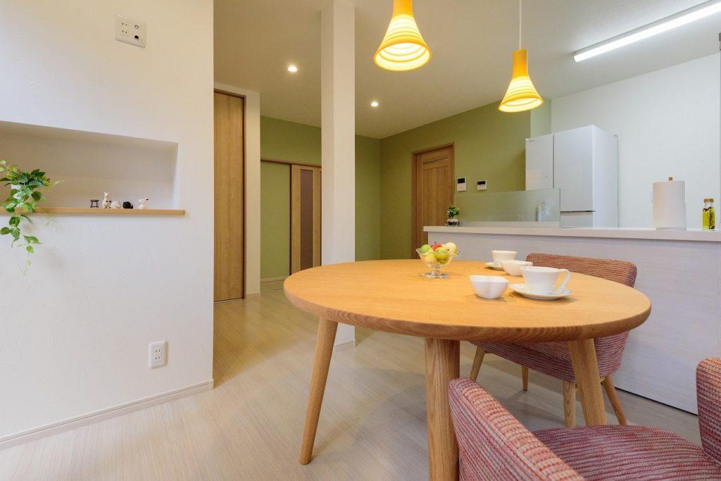 住空間を 楽しむ家