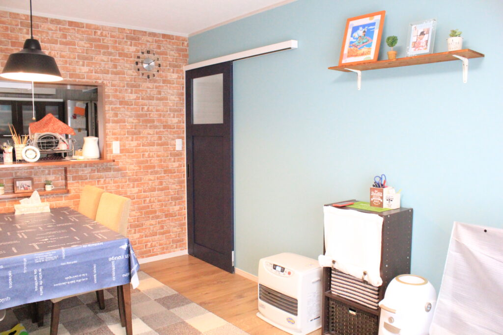 来客に褒められる家 好みのカラーでフルリノベーション